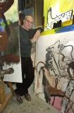 Martineau,schilder14 maart 2000Special RequestFotograaf Gerlinde de Geus